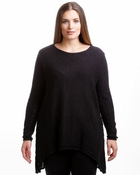 Picture of Pullover in blue, white & black
