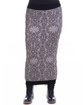 Image de Longue jupe droite