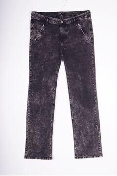 Bild von Grau/schwarze Jeans