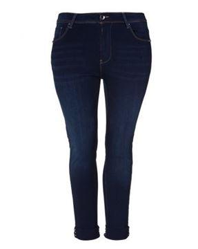 Image de Jeans bleu foncé slim leg